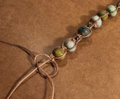 Castaway Beaded Macrame Bracelet (Customer Design) - Lima Beads