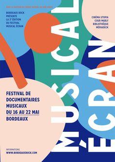 Festival Musical Ecran - Documentaires s musicaux #festival #affiche #affichefestival https://fr.pinterest.com/igreka2n/festival/