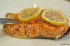 Salmon cooked to perfection in the Instant Pot