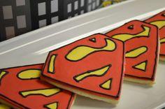 Super Hero Batman, spiderman Superman, Larry boy Birthday Party Ideas | Photo 4 of 12 | Catch My Party