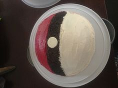 Pokemon Cake... Uh yeah pretty sure this is the cake Im making for his 19th birthday.. Perfect!