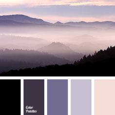 Color Palette  #3755
