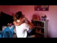 U.S  Marine Surprises Little Sister - YouTube