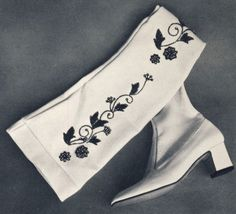 1970   Celestino's boot  Showcased at the first MICAM (International Footwear Fair) in Milan