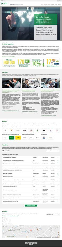 #webdesign #agency #bordeaux #site #internet #dekra #automobile