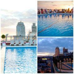Las mejores terrazas con piscina de Madrid y el mejor verano