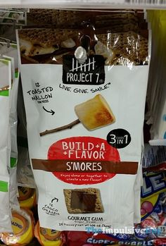 Project 7 Build A Flavor S'mores Gourmet Gum