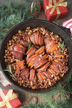 PaleOMG Cinnamon & Sugar Skillet Sweet Potatoes