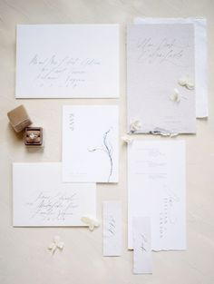 The Unexpectedly Chic Wedding Color You Should Consider Classic Wedding Invitations, Unique Invitations, Invitation Envelopes, Wedding Stationary, Invitation Design, Wedding Paper, Wedding Cards, The Knot Magazine, Chic Wedding