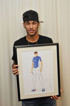 Neymar soccer Football Love, Football Players, Brazilian Soccer Players, Neymar Pic, Love You Babe, Fit Board Workouts, Best Player, Color Of Life, Dream Guy
