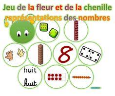 La chenille des nombres-jeu Preschool Math, Math Games, Memes, Classroom, Nail, Suites, Cycle, Voici, Stage