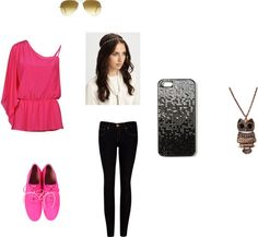 """""""Pink"""" by heyitscassie101 on Polyvore"""