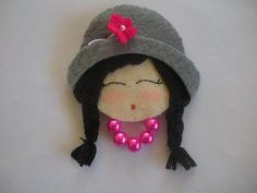 MEU MUNDO CRAFT: Lindas damas com CD´s