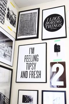 Free Printables For Your Walls - Black And White Free Printables - Best Free Prints for Wall Art and Picture to Print for Home and Bedroom Decor - Ideas for the Home, Organization - Quotes for Bedroom and Kitchens, Vintage Bathroom Pictures - Downloadable Printable for Kids - DIY and Crafts by DIY JOY http://diyjoy.com/free-printables-walls