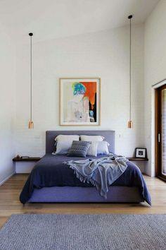 Charmant Purple Bedroom