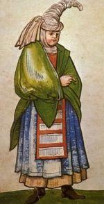 """Woman from the Mountains """"Trachtenbuch de Christoph Weiditz von seinen teisen nach Spanien (1529)und den Niederlandeden (1531/32)"""""""
