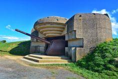 #tourdecorno Een nog intact Duits afweergeschut. Longues sur Mer (Foto: Corno van den Berg) #sitesetpaysages