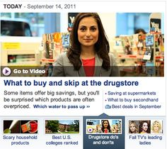 Drug Store Do's and Don't's