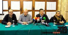 Rueda de prensa de la dimisión de los cuatro concejales del PSOE de Zamora