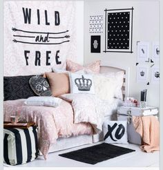 Pink themed room