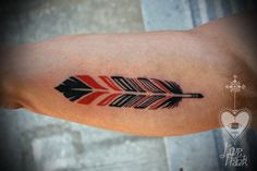 Cool Feather Tattoo arm tattoo, feather, feather tattoo http://tattoo-designs.us/cool-feather-tattoo/