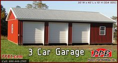 Why get two garage doors when you can get three for 10 x 8 garage door price