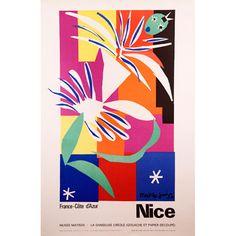 Henri Matisse Musée Matisse Danseuse Créole (1965 vintage poster)