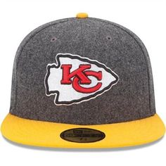 New Era Kansas City Chiefs Melton Basic 59FIFTY Structured Fitted Hat