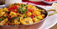 Recette de Poêlée de légumes d'automne au curry. Facile et rapide à réaliser, goûteuse et diététique. Ingrédients, préparation et recettes associées.