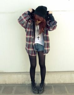 black combat boots last forever and are THE staple for 90's grunge fashion and style.