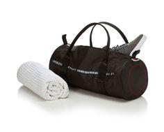 luftstoff carrierbag tube small mit Barcode | Schwarz | 100% Original Airbag Material  Netzfutter  wasserabweisend  handwaschbar  2 Reißverschluss-Innentaschen
