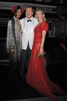 Mario Testino 60 birthday   Naomi Campbell   Kate Moss in Kate Halfpenny