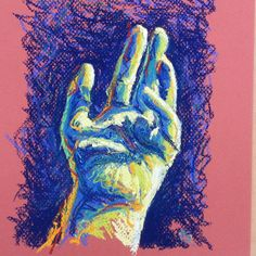 The Artist's hand in pastel (hand number one) by Liz Powley Check It Out, Pastel, Design Inspiration, Hands, Drawings, Artist, Painting, Number, Image