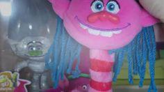 Toys Unlimited DreamWorks Trolls Mega Keychain Cooper Guy Diamond Fuzzbe...