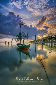 ::. The Icon-Charp11 .:: ~ serene water, cloud reflections, Indonesia by Ahmad Zulharmin Fariza~~