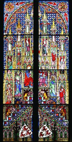 Kolner Dom Marienkrönungsfenster - Kölner Domfenster – Wikipedia