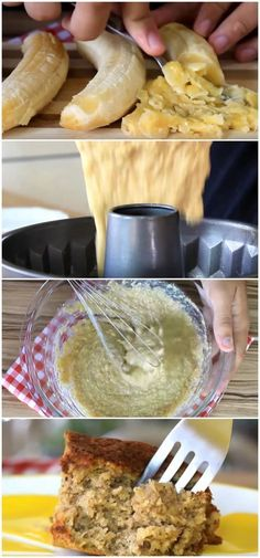 Que tal preparar uma receita de bolo saudável de banana e gostoso que cabe na dieta? #bolo #banana #saudavel #light #diet #fit #receitasfit #receitafuncional #receita #gastronomia #culinaria #comida #delicia #receitafacil