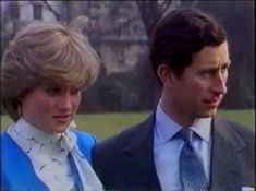 February Prince Charles And His Fiance Lady Diana Give An Interview After The Announcement Of Their Engagement