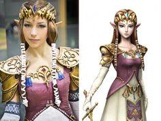 Incredible Zelda Cosplayer