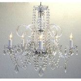 Found it at Wayfair - 5 Light Crystal Chandelier