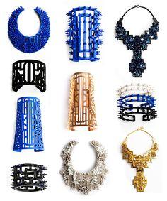 Heaven Tanudiredja Jewellery. She's Bali born, Antwerp based.