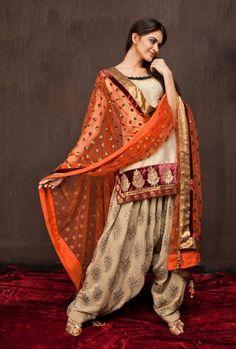 Patiala Shalwar Kameez Suits Collection 2016                                                                                                                                                                                 More