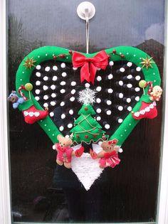 Personalised Christmas Wreath Handmade to Order Christmas Wreaths, Christmas Ornaments, Holiday Decor, Handmade, Ebay, Christmas Garlands, Xmas Ornaments, Hand Made, Holiday Burlap Wreath