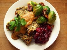 Vegetable Lentil Loaf & Chickpea Gravy-Garden of Vegan Vegetable Recipes, Vegetarian Recipes, Cooking Recipes, Healthy Recipes, Vegan Meals, Healthy Food, Paleo Food, Fun Recipes, Vegan Foods