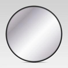 Decorative Circular Wall Mirror - Black - Project 62™ : Target