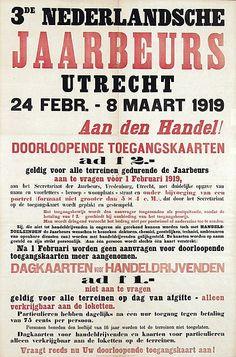 3e Nederlandsche Jaarbeurs Utrecht 1919