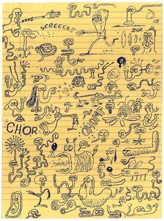 Chris Garbutt sketchbook