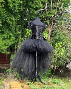 Burlesque skirt for Halloween Costume Steam by SweetDreamsTutus