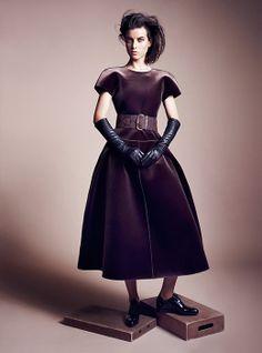 Emporio #Armani dress F/W 2013-14