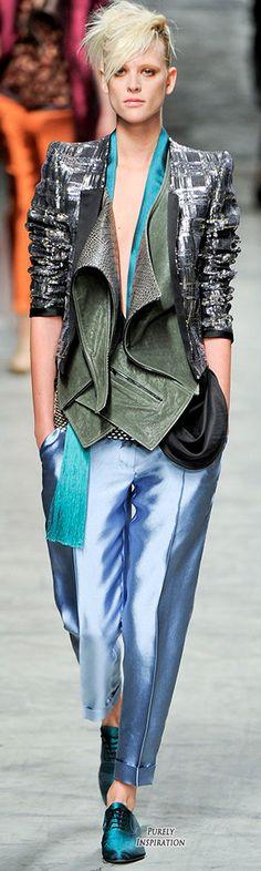 Haider Ackermann SS2012 Women's Fashion RTW   Purely Inspiration